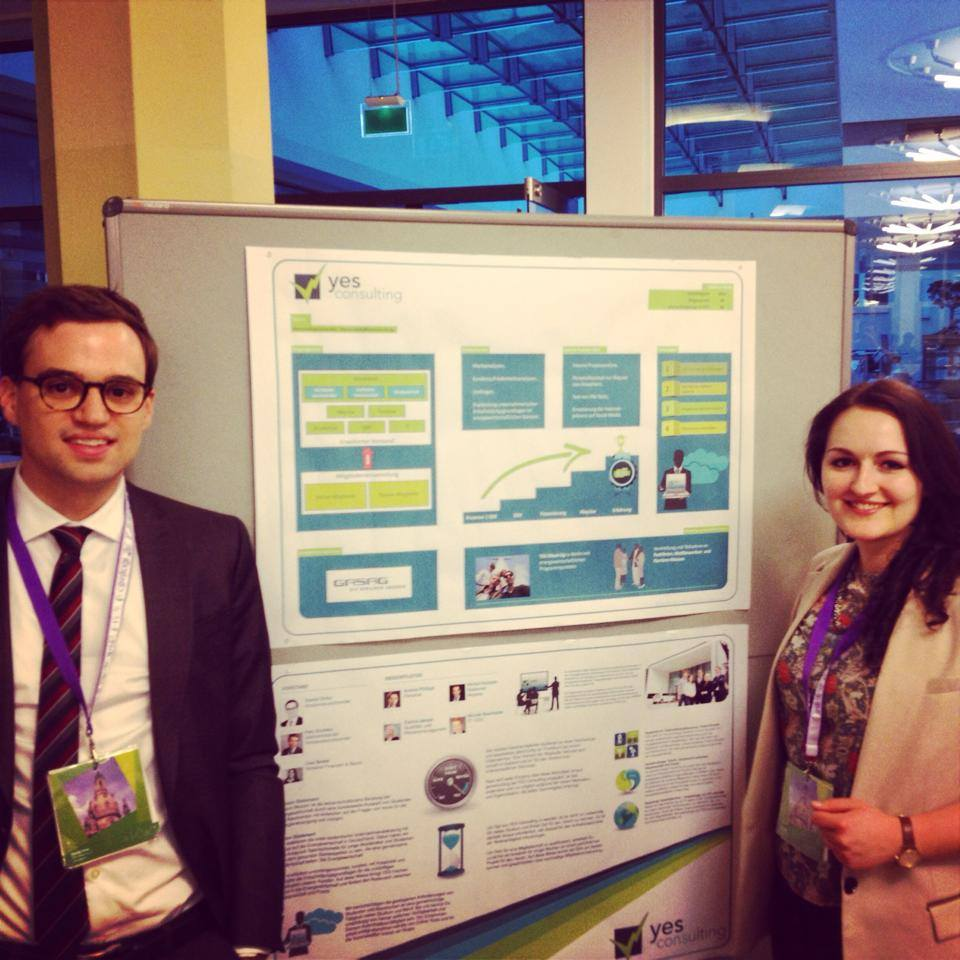 Lisa Seidel und Daniel Dirks auf dem Frühjharskongress des BDSU